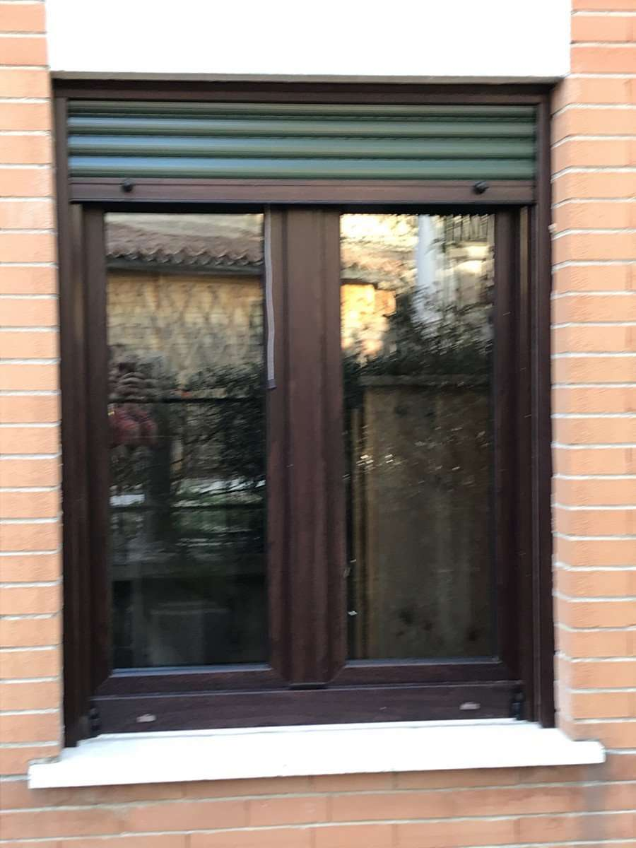 Infissi in pvc monoblocco Kommerling 76MD