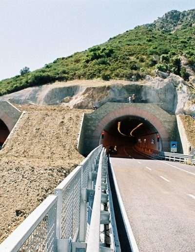 VAutostrada Olbia-Nuoro - Viadotto Nibbaru