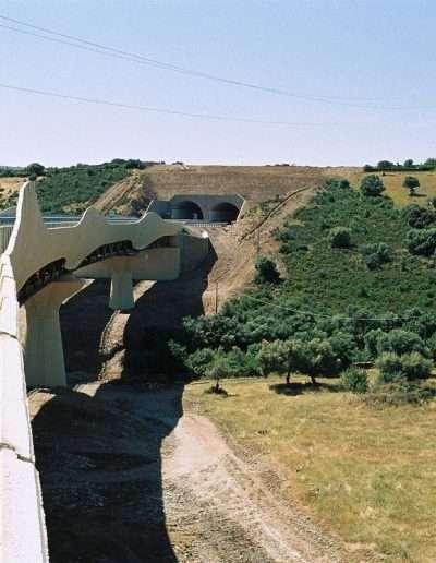 Autostrada Olbia-Nuoro - Viadotto Nibbaru